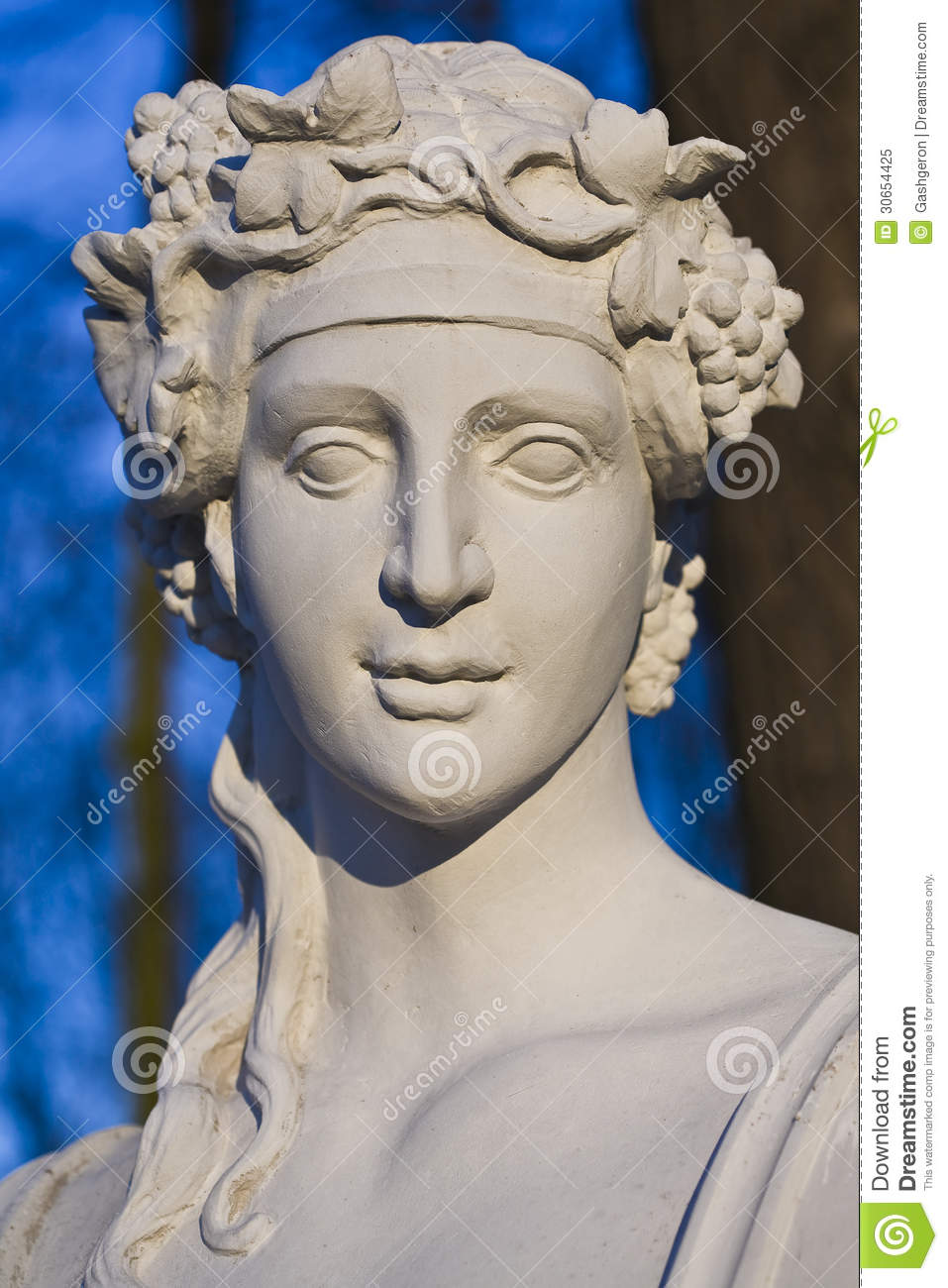 Baroque Sculpture Bust Stock Image Image Of Sculpture