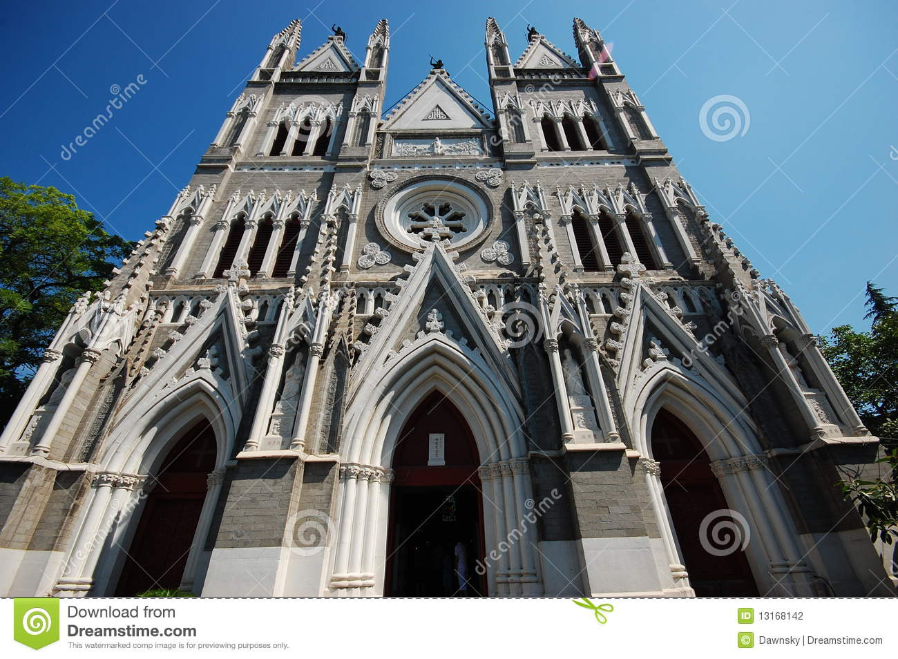 The baroque style church stock photo image of barpque for Baroque style church