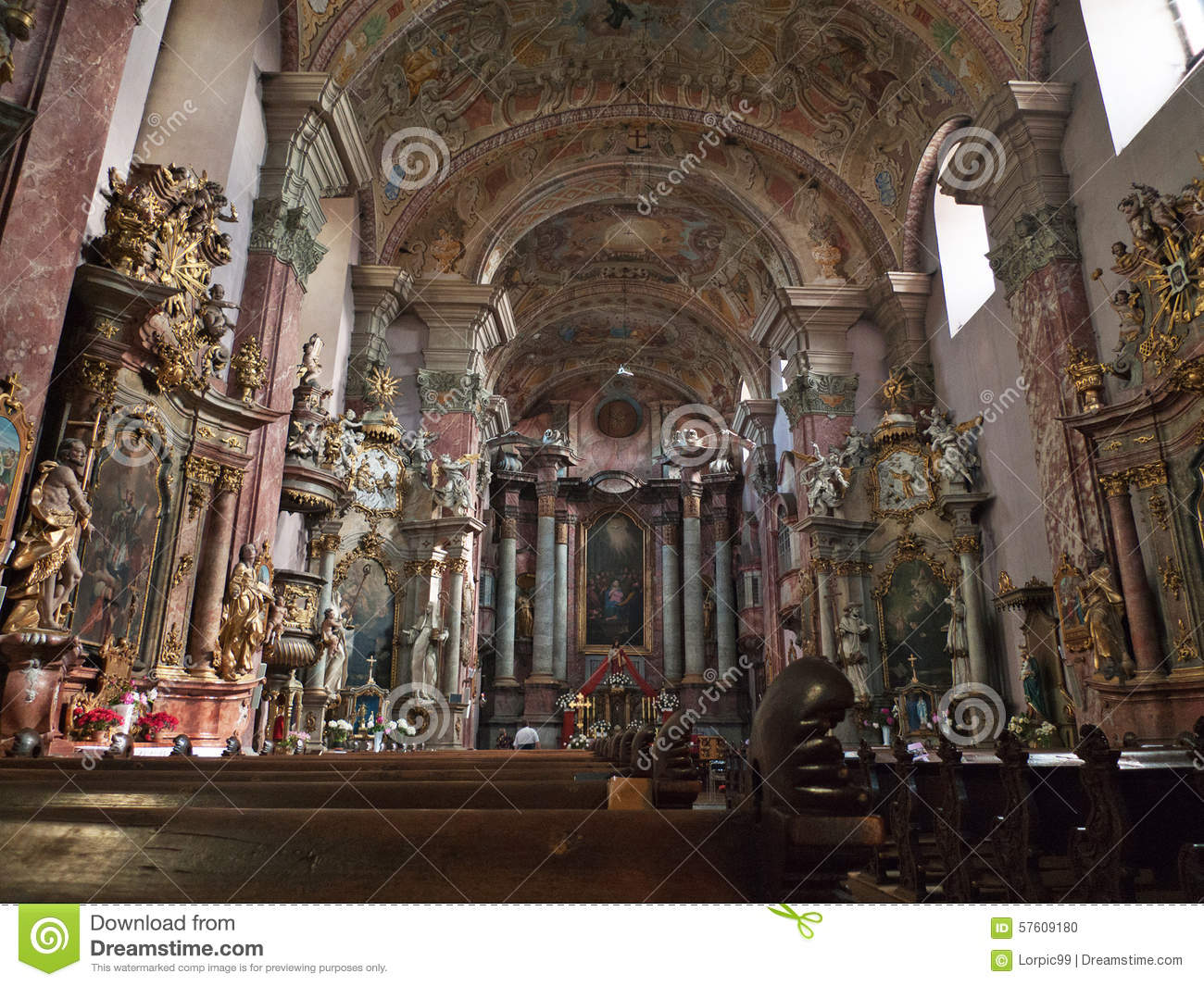 Baroque style church stock photo image 57609180 for Baroque style church