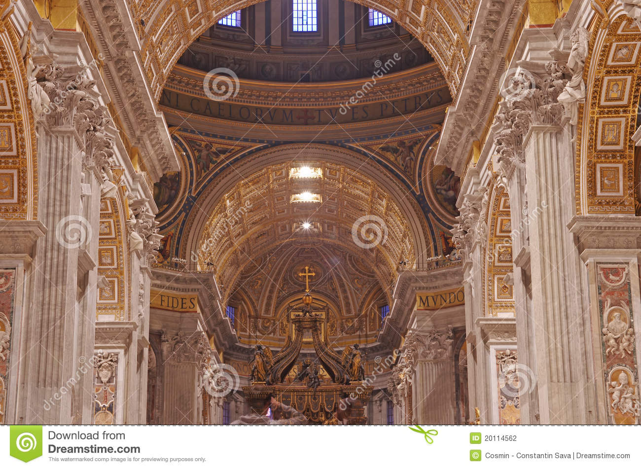 Baroque style elements stock photography image 20114562 for Baroque architecture elements
