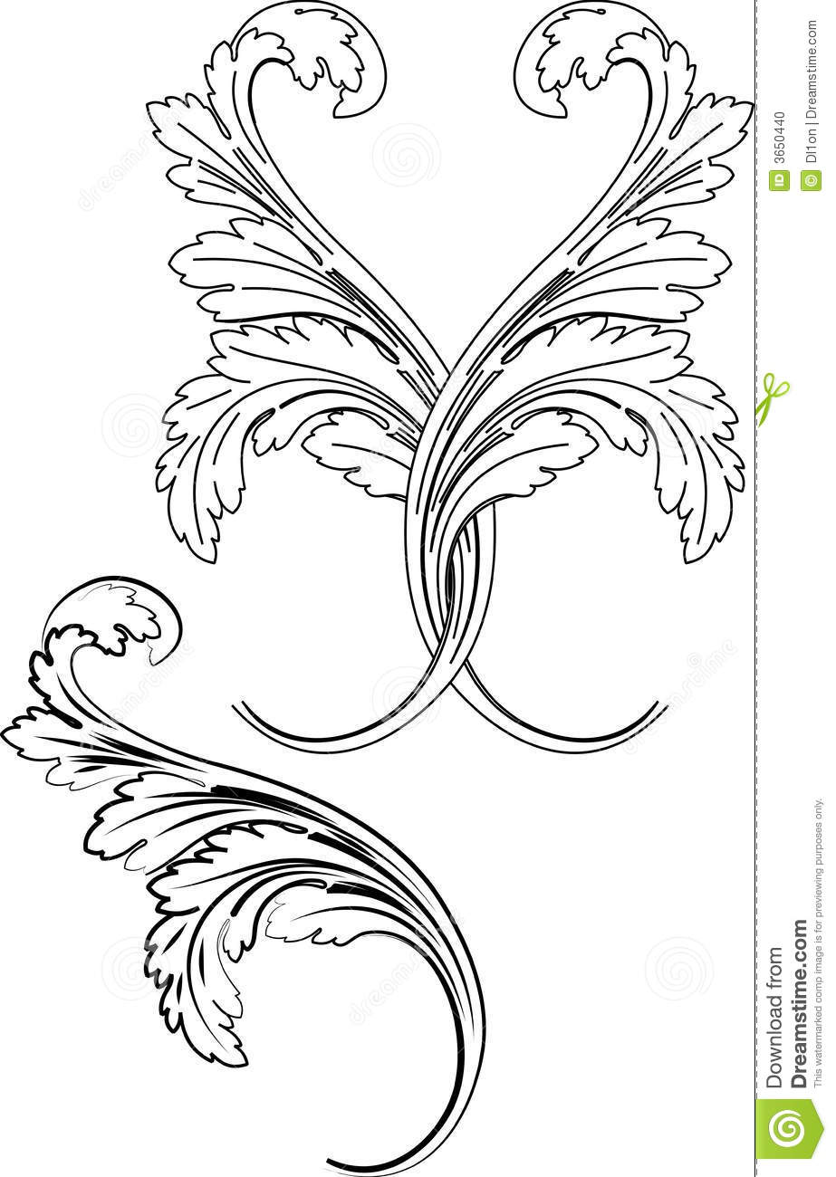 Dragon vector sign stock vector 313643336 shutterstock -  3 Baroque Two Styles Traditional And Calligraphy Stock