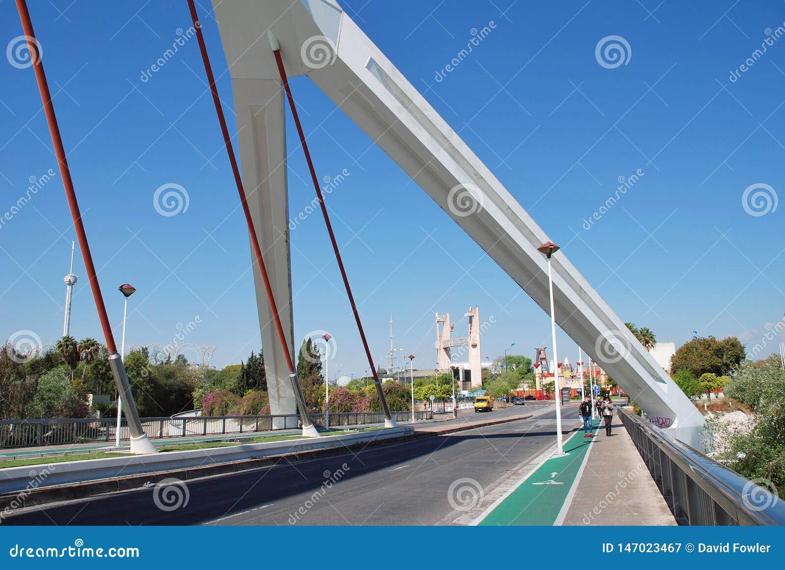 Barqueta most, Seville