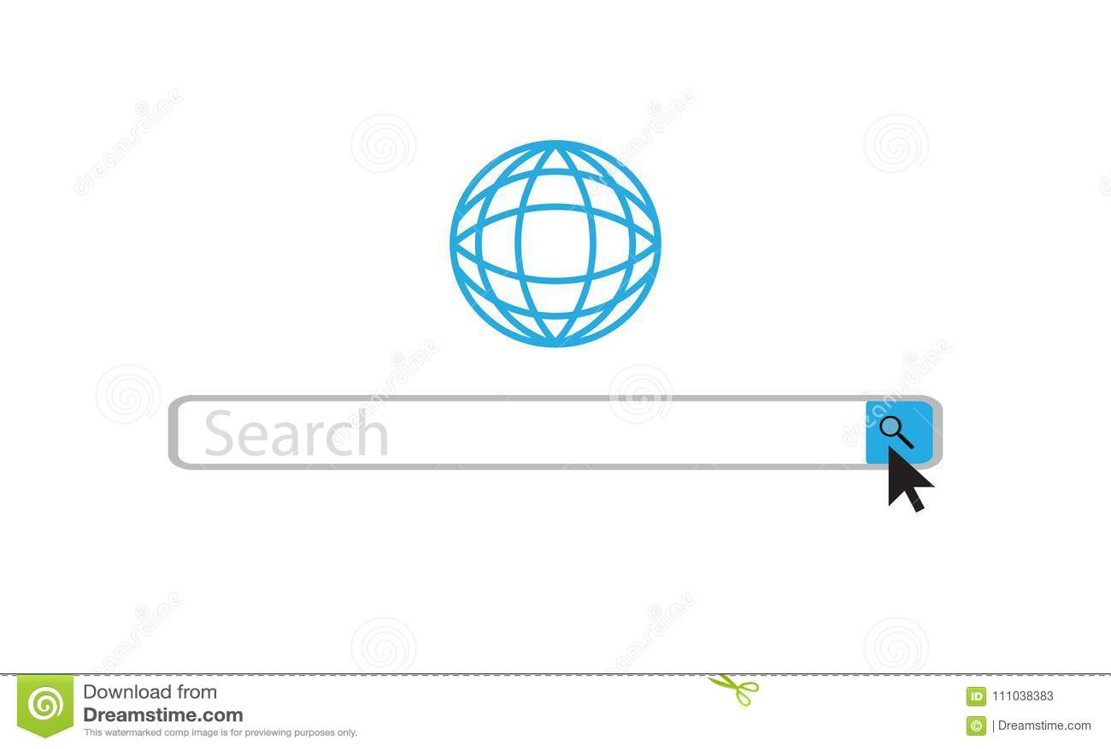 Barra da Web da busca
