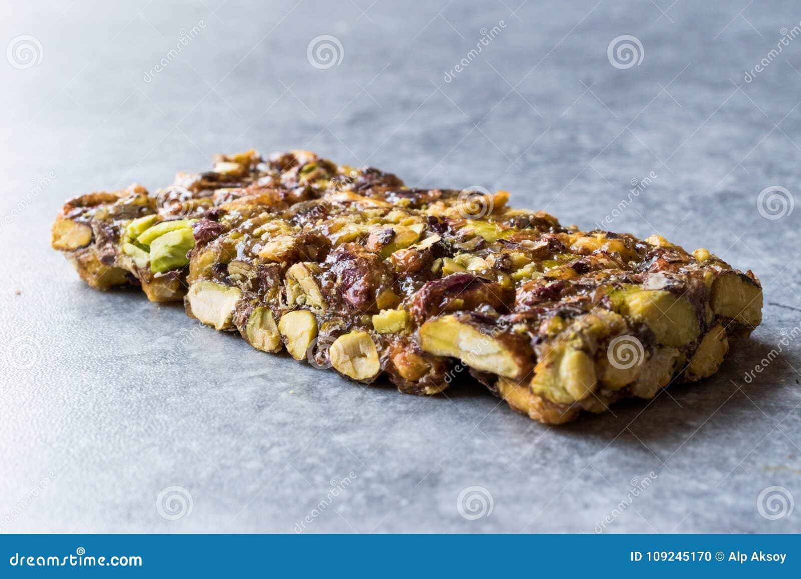 Barra de amendoim orgânica com Honey No Glucose