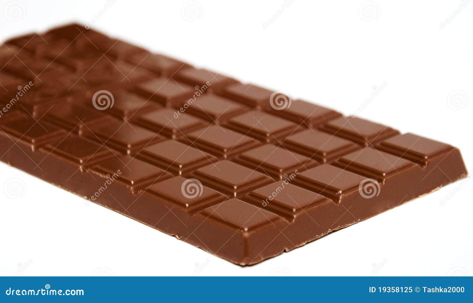 Barra de chocolate do leite