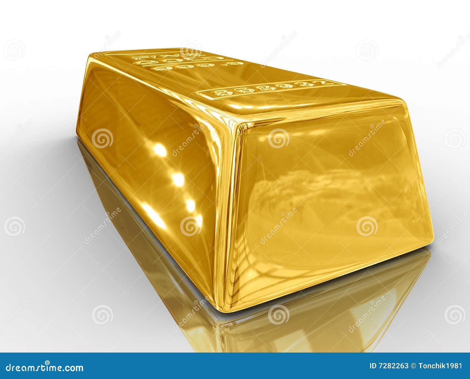 Barra de oro.