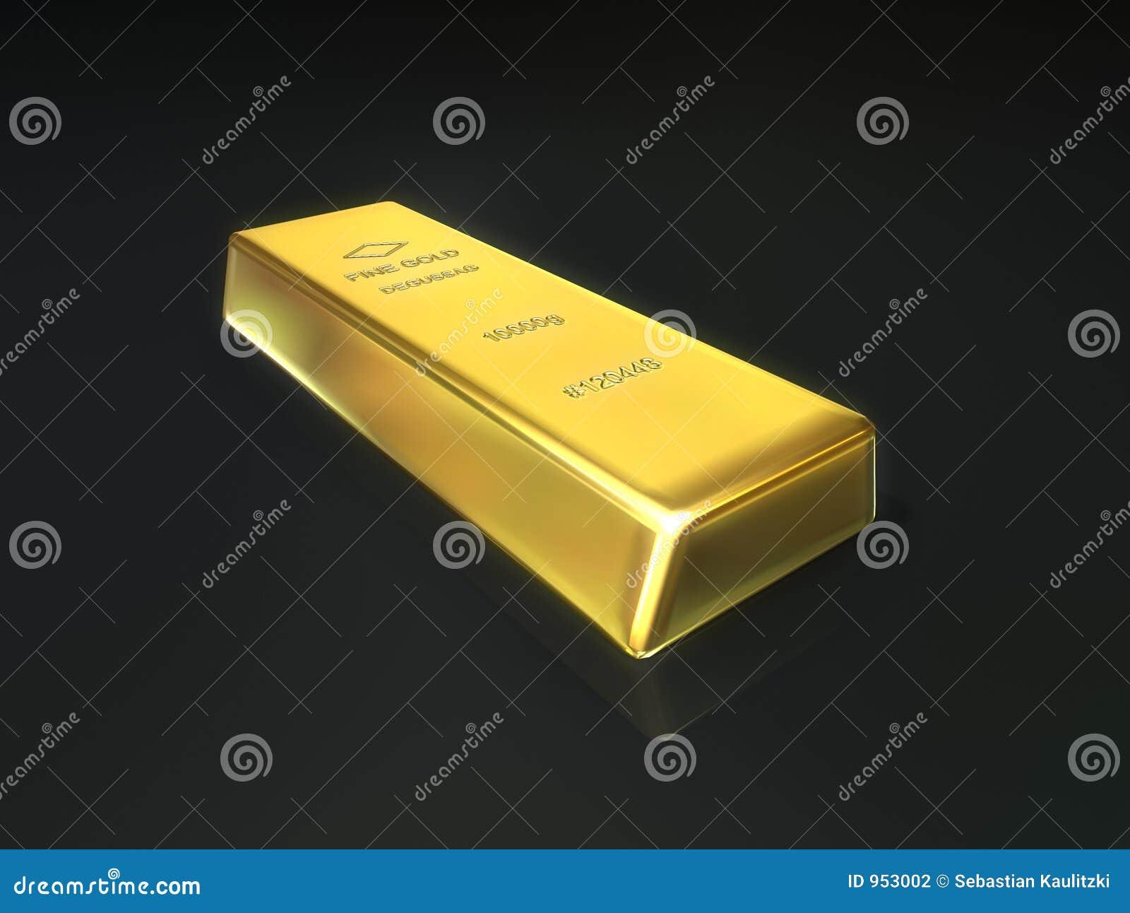 Barra di oro