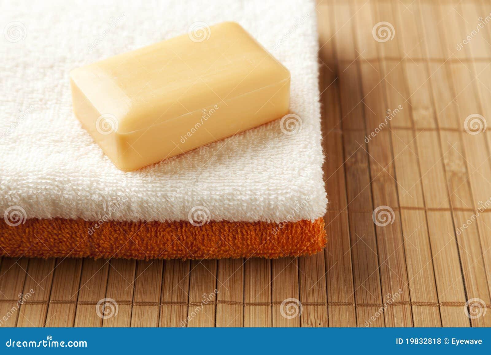 Barra do sabão do mel