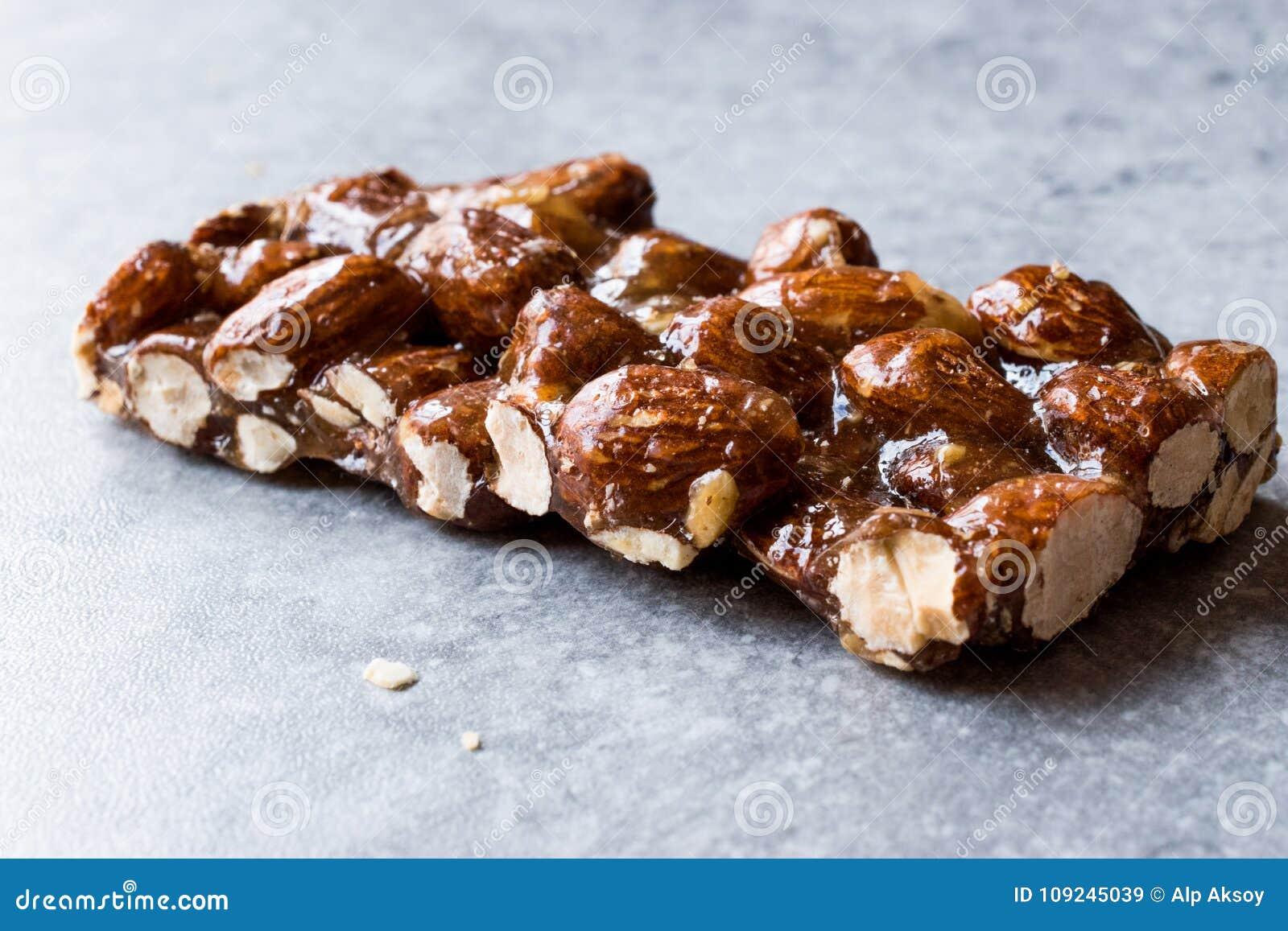Barra orgânica da amêndoa com Honey No Glucose