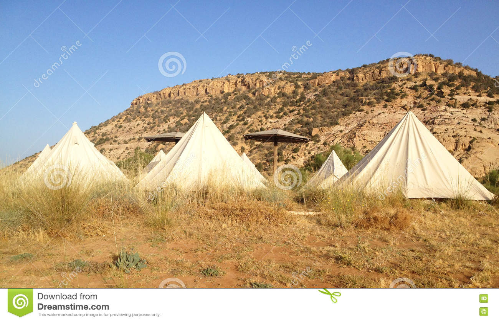 Barracas da tenda