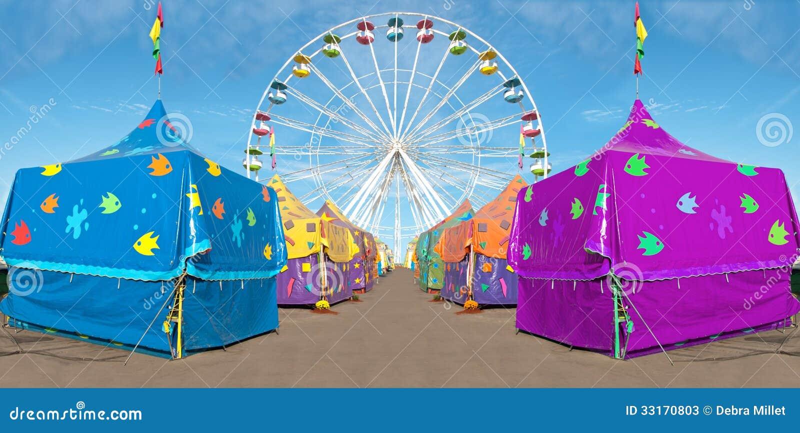 Barracas do carnaval