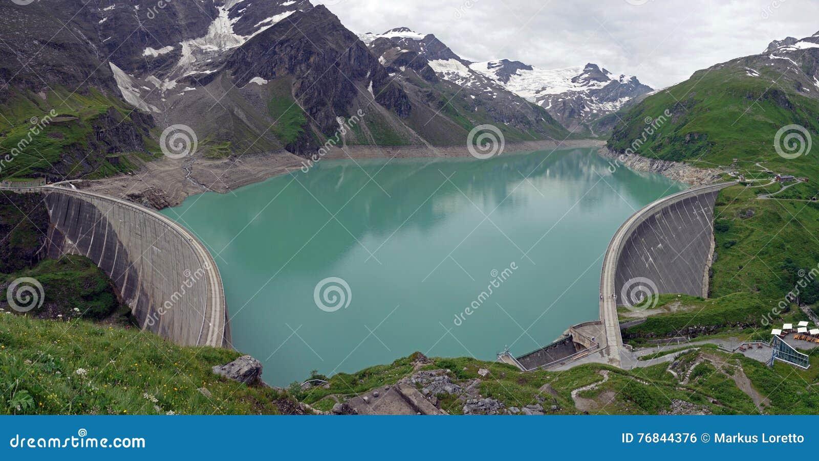 Barrage de Kaprun, lac Mooserboden