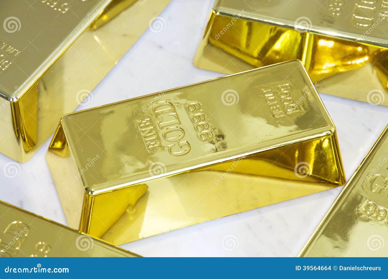 Barras de ouro 1000g