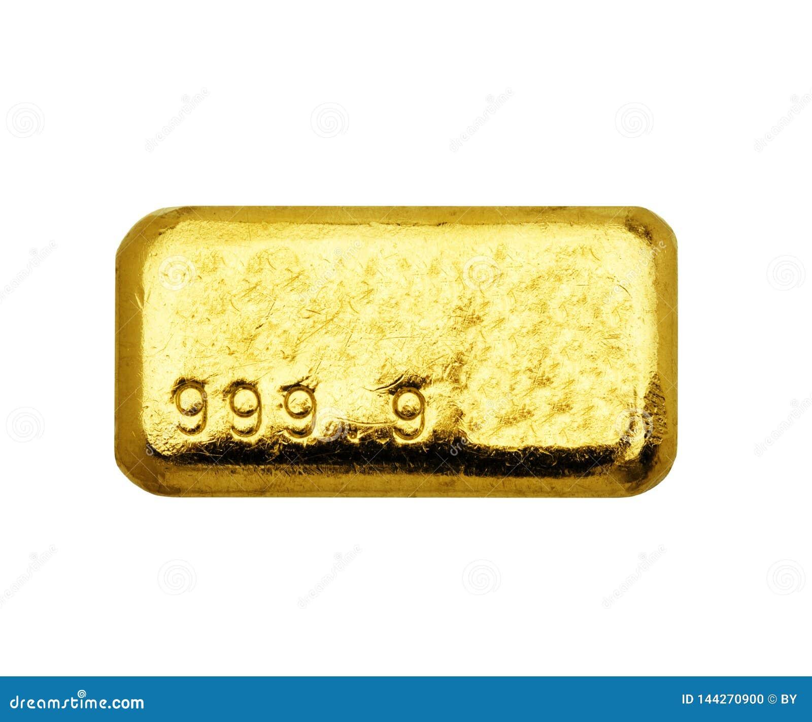 Barras de ouro
