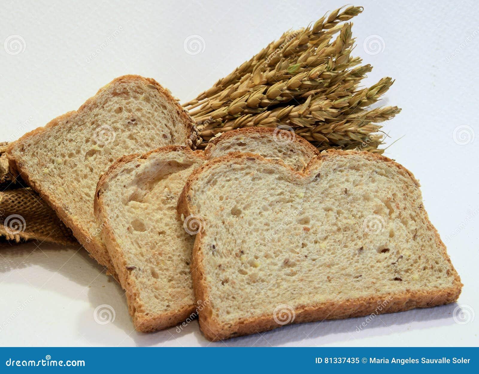 Barras de pan con los oídos