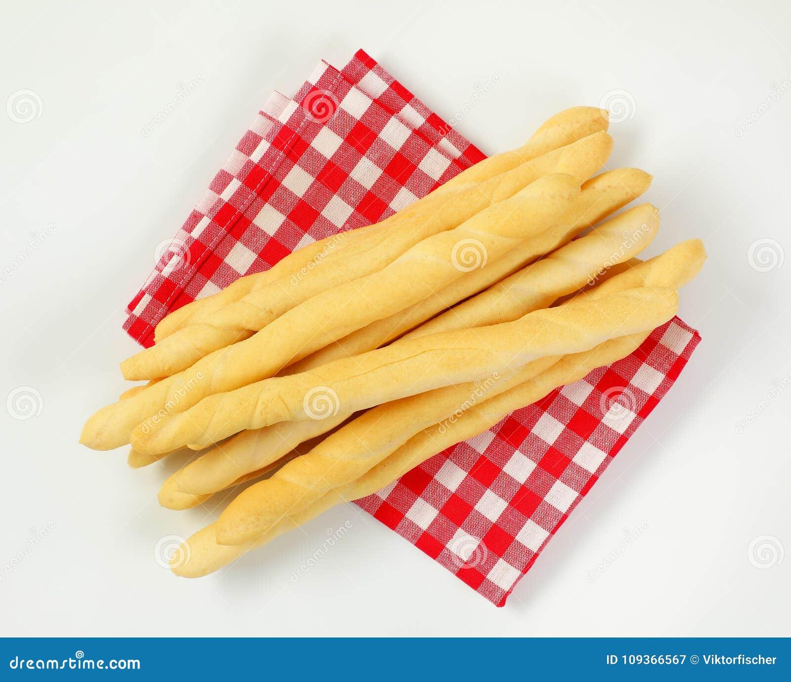 Barras de pan curruscantes