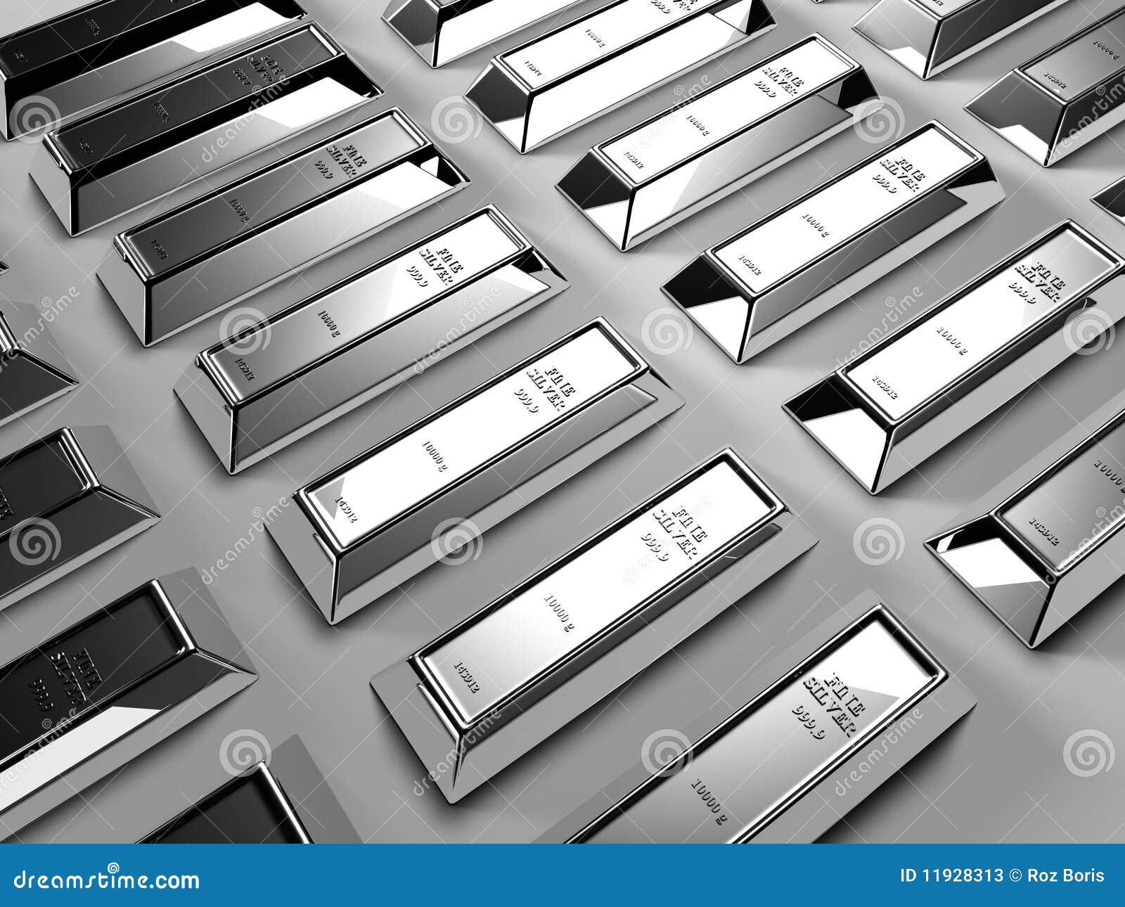 Barras De Prata Ilustra 231 227 O Stock Ilustra 231 227 O De P 225 Lido