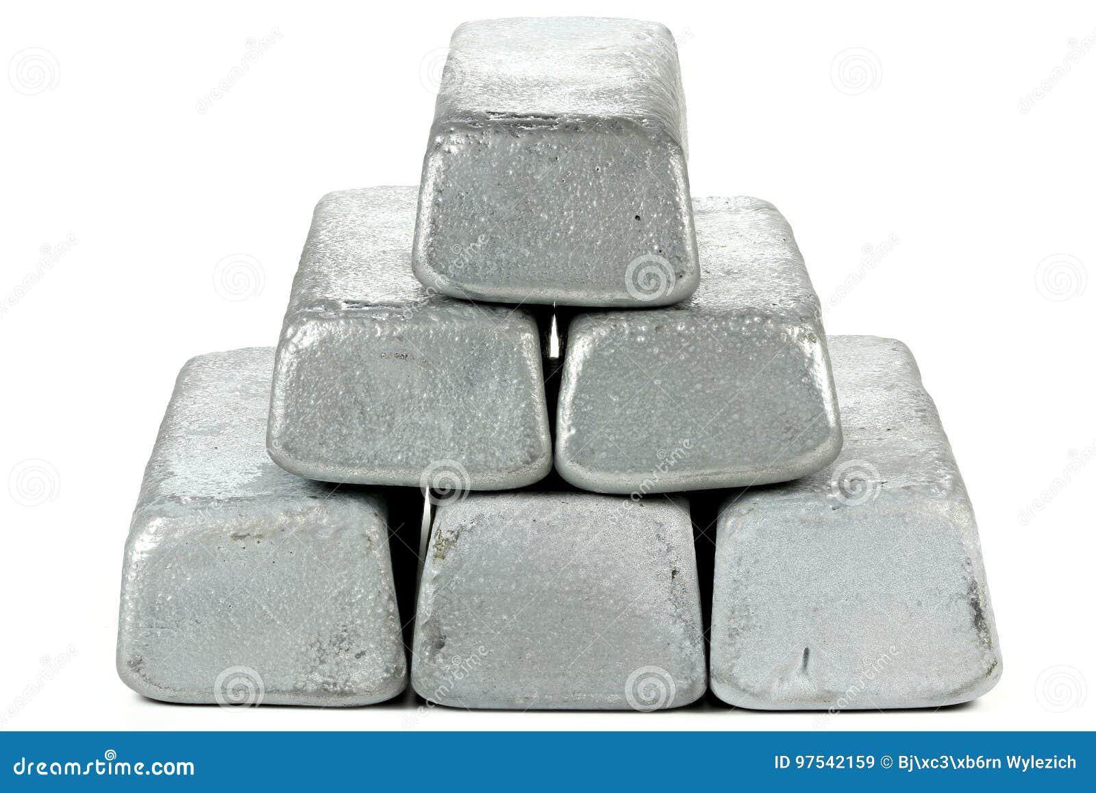 Barras do zinco