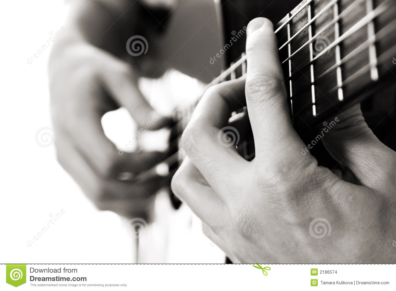 Barre chord, acoustic guitar