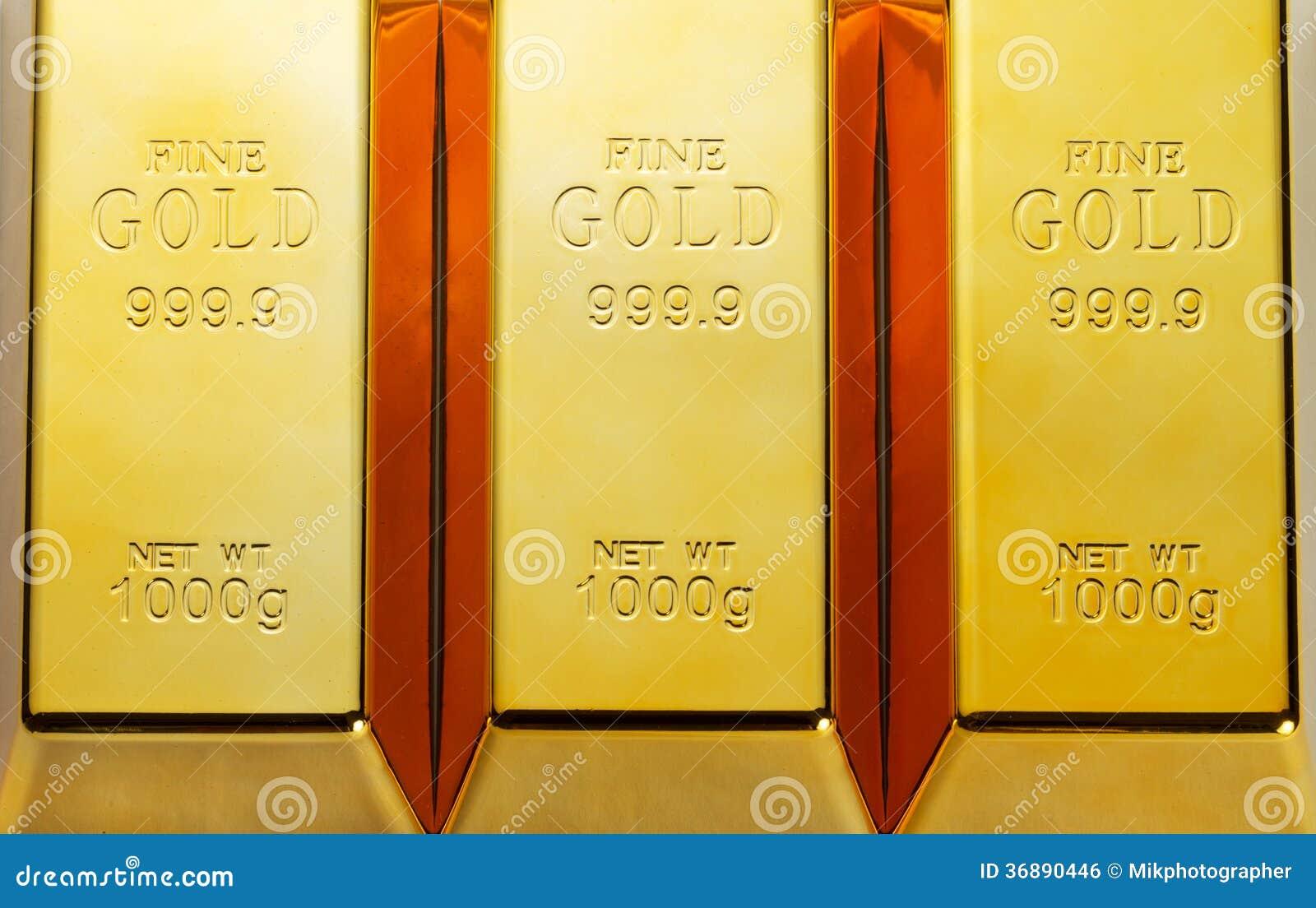 Download Barre di oro illustrazione di stock. Illustrazione di riserva - 36890446