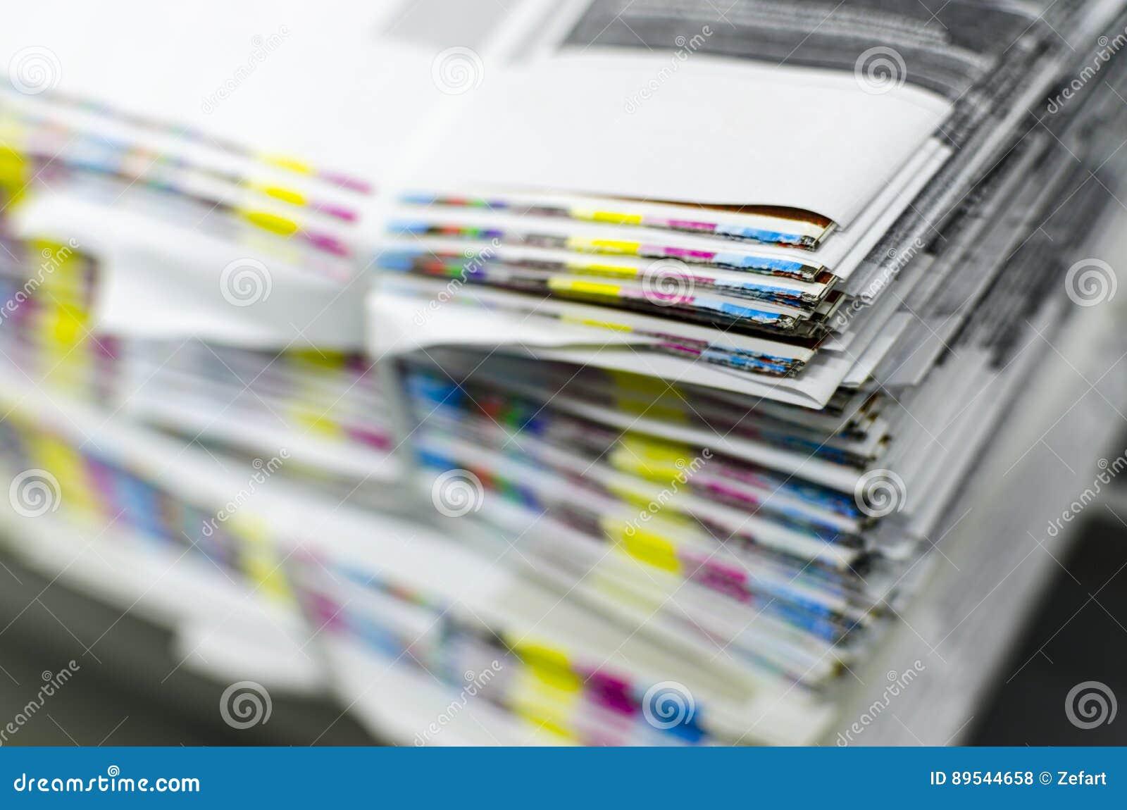 Barre di riferimento di colore della carta da stampa