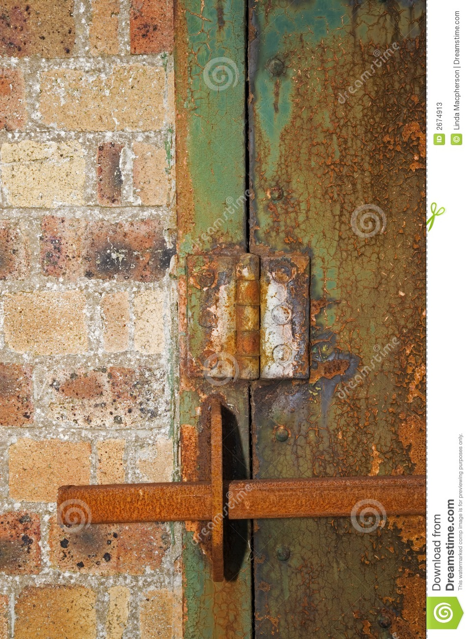 Barred Door Stock Photos - Image: 2674913