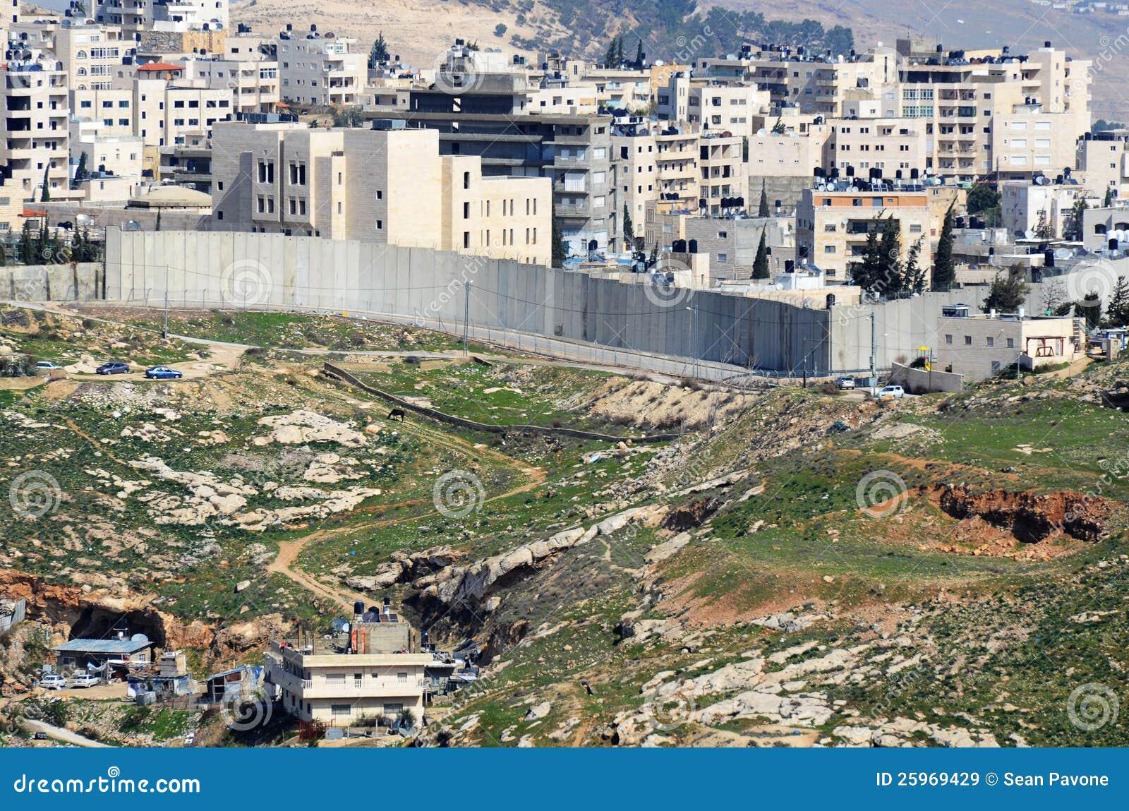 Barreira do banco ocidental de Israel