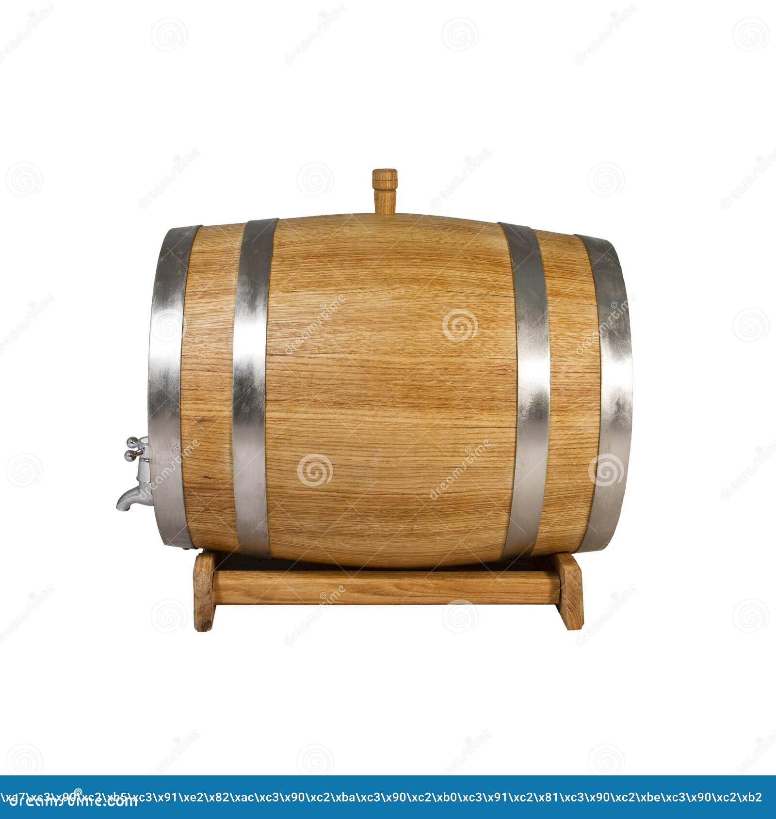 Barrel Oak Stock Image Image Of 100l Drink Wine Premium 97661581