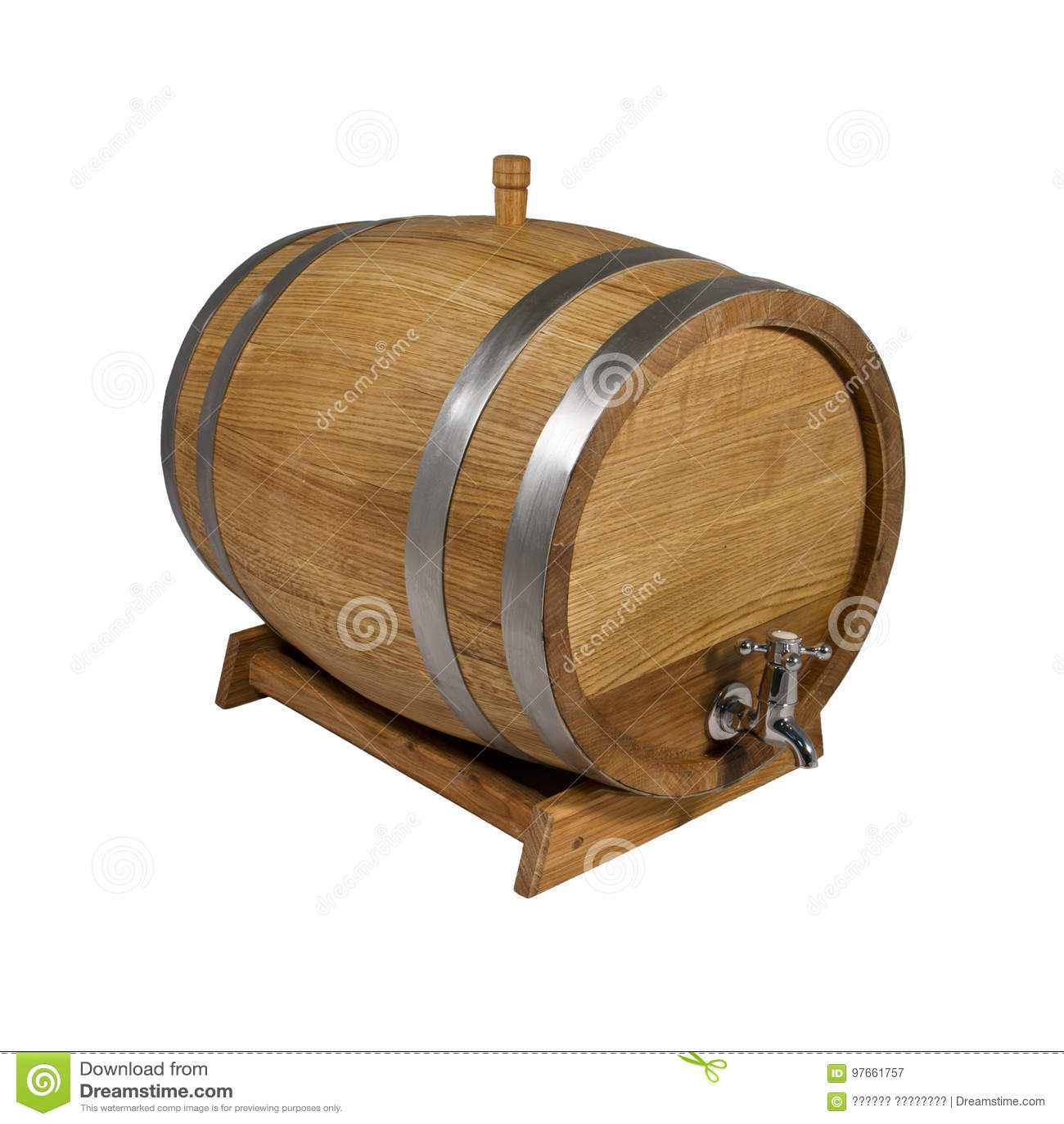 Barrel Oak Stock Image Image Of Premium Cask Drink 97661757
