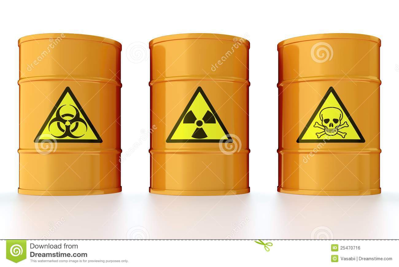 Barrel With Toxic Waste Royalty Free Stock Image Image