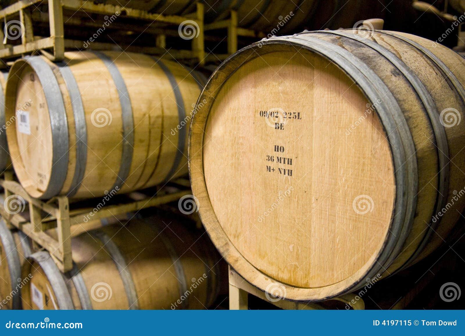 Barrels vinodlingen