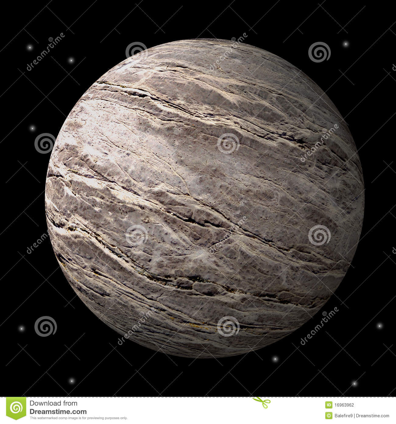 barren rocky planet or moon stock photo image of planet rock 16963962. Black Bedroom Furniture Sets. Home Design Ideas