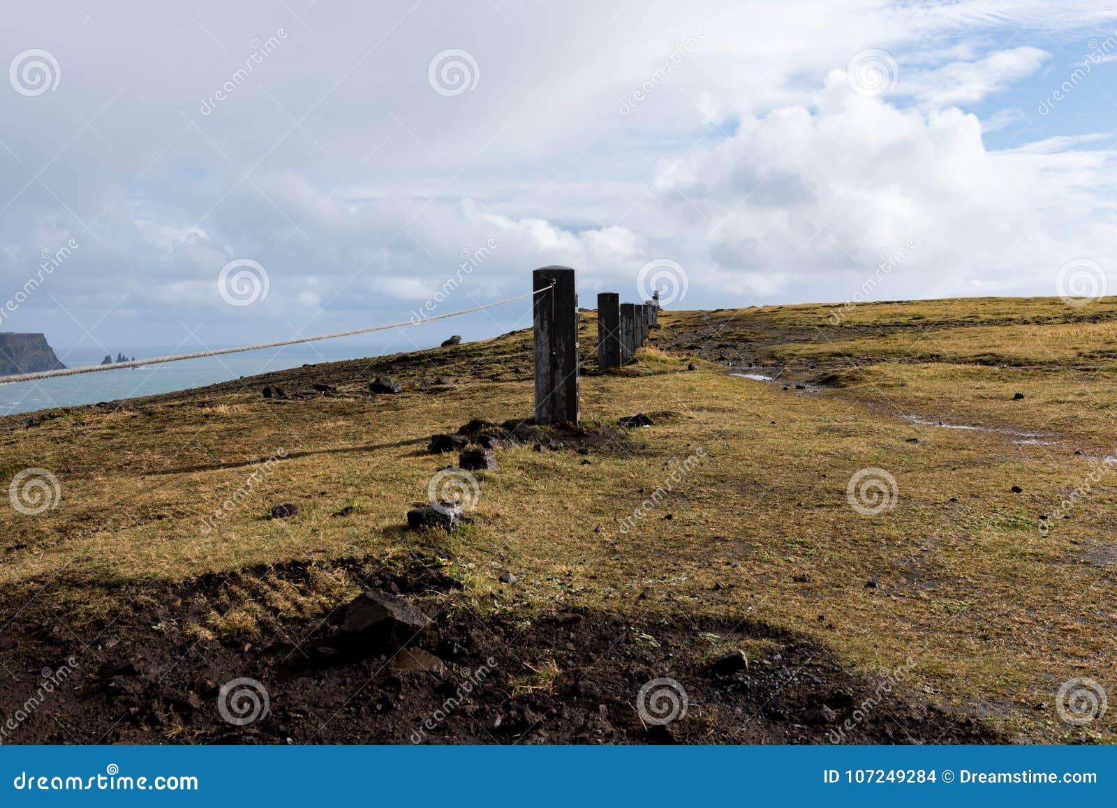 Barrière autour du phare