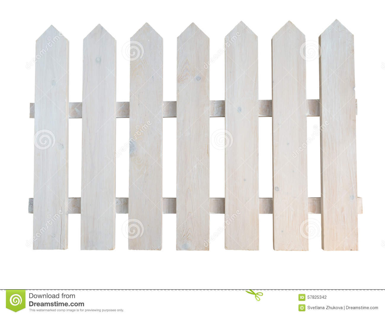 Barri re d corative peinte rugueuse en bois blanche de jardin de cottage photo stock image for Barriere de jardin bois