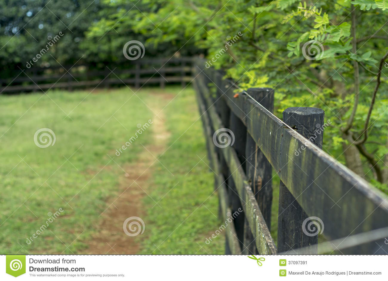 Barrière de ferme