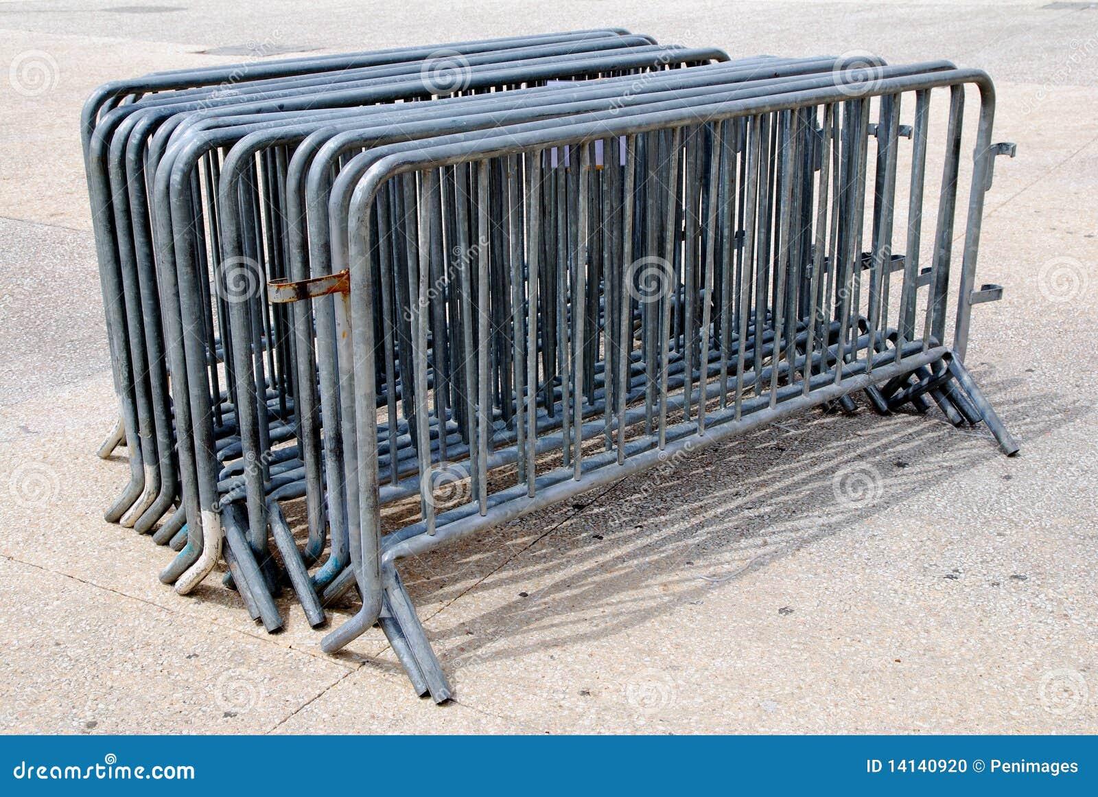 Barrières pour le contrôle de foule