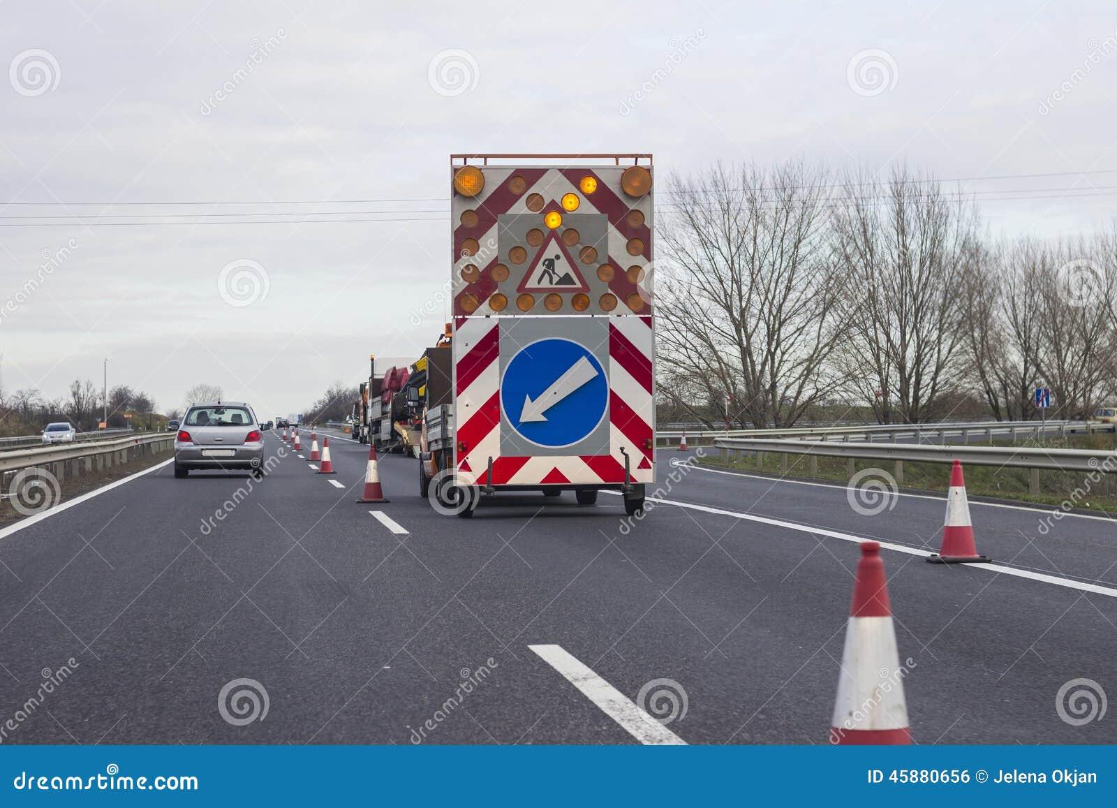 Barricada del camino