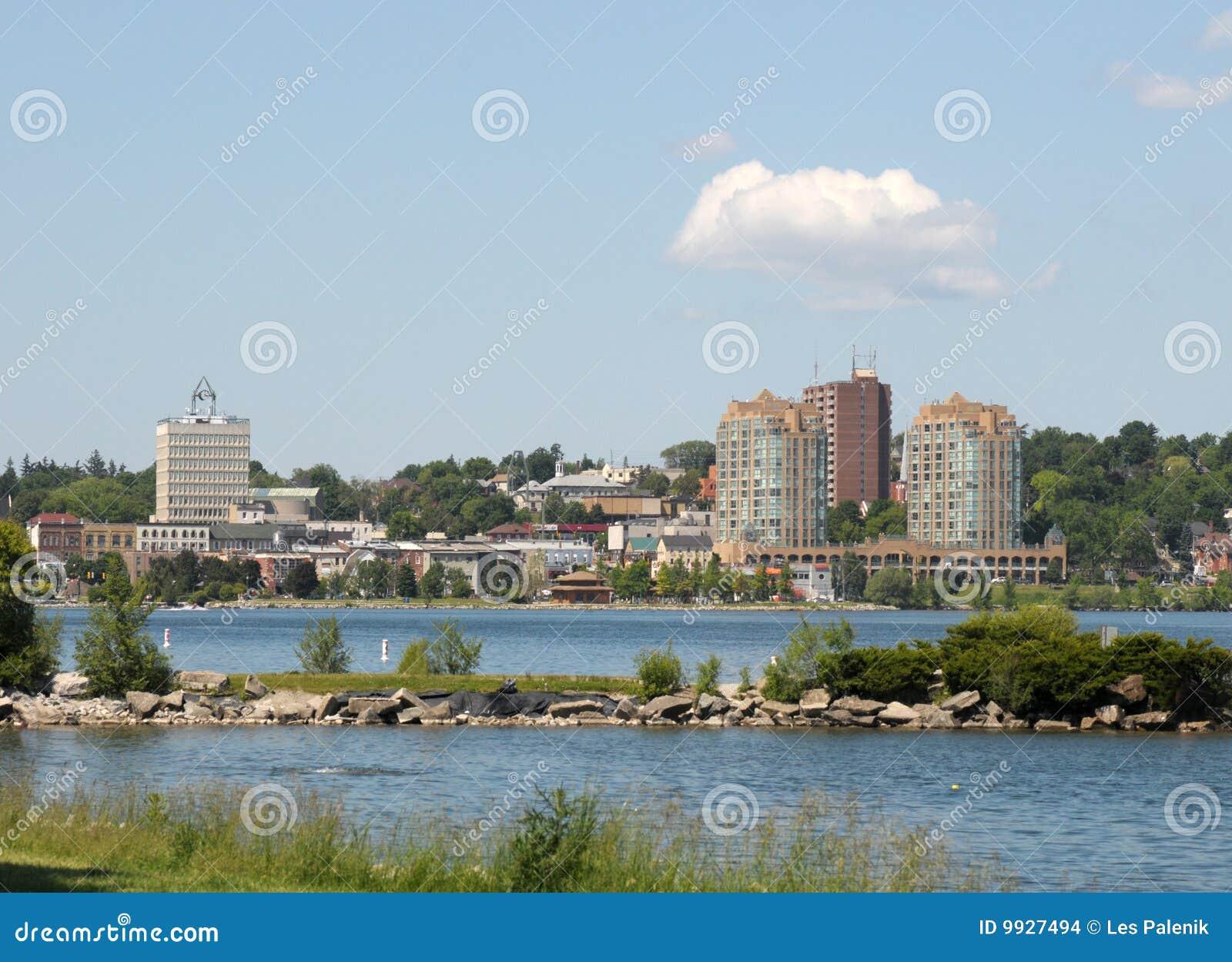 Barrie Ontario linia horyzontu