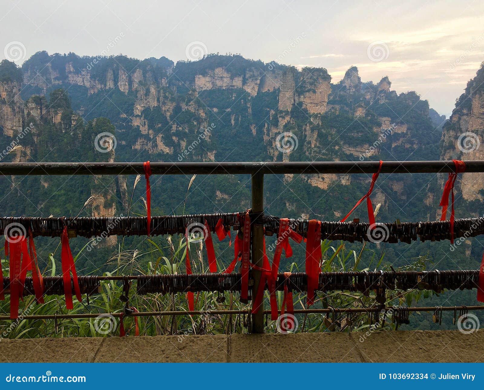 Tianzi Shan mountain Avatar mountains,Zhangjiajie National Fores