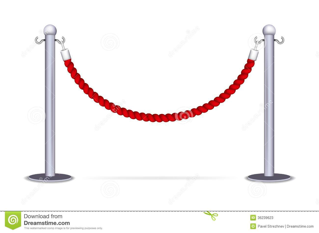 Barrier Rope Stock Photos Image 36239623