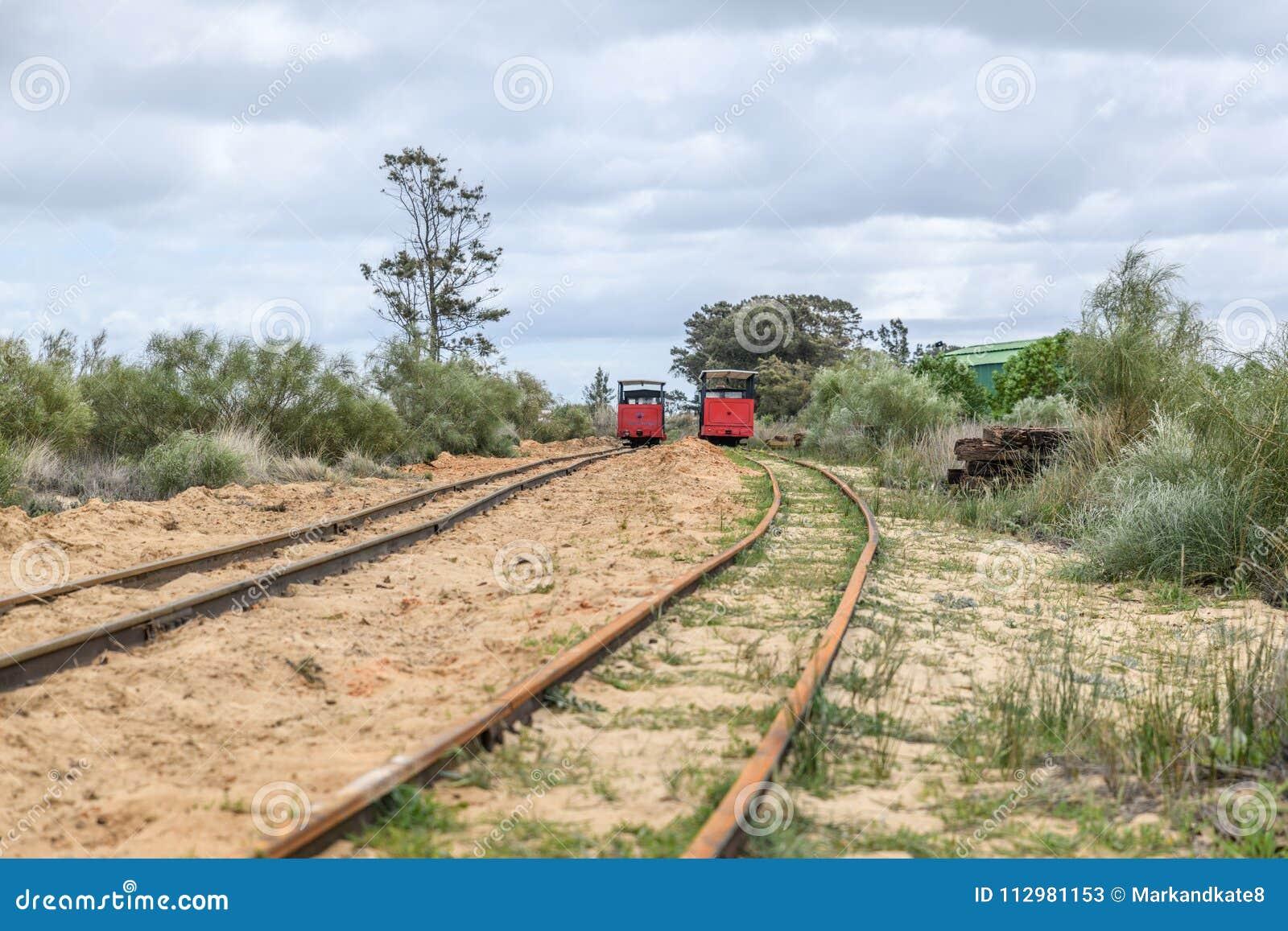 Barril Beach Trains Portugal