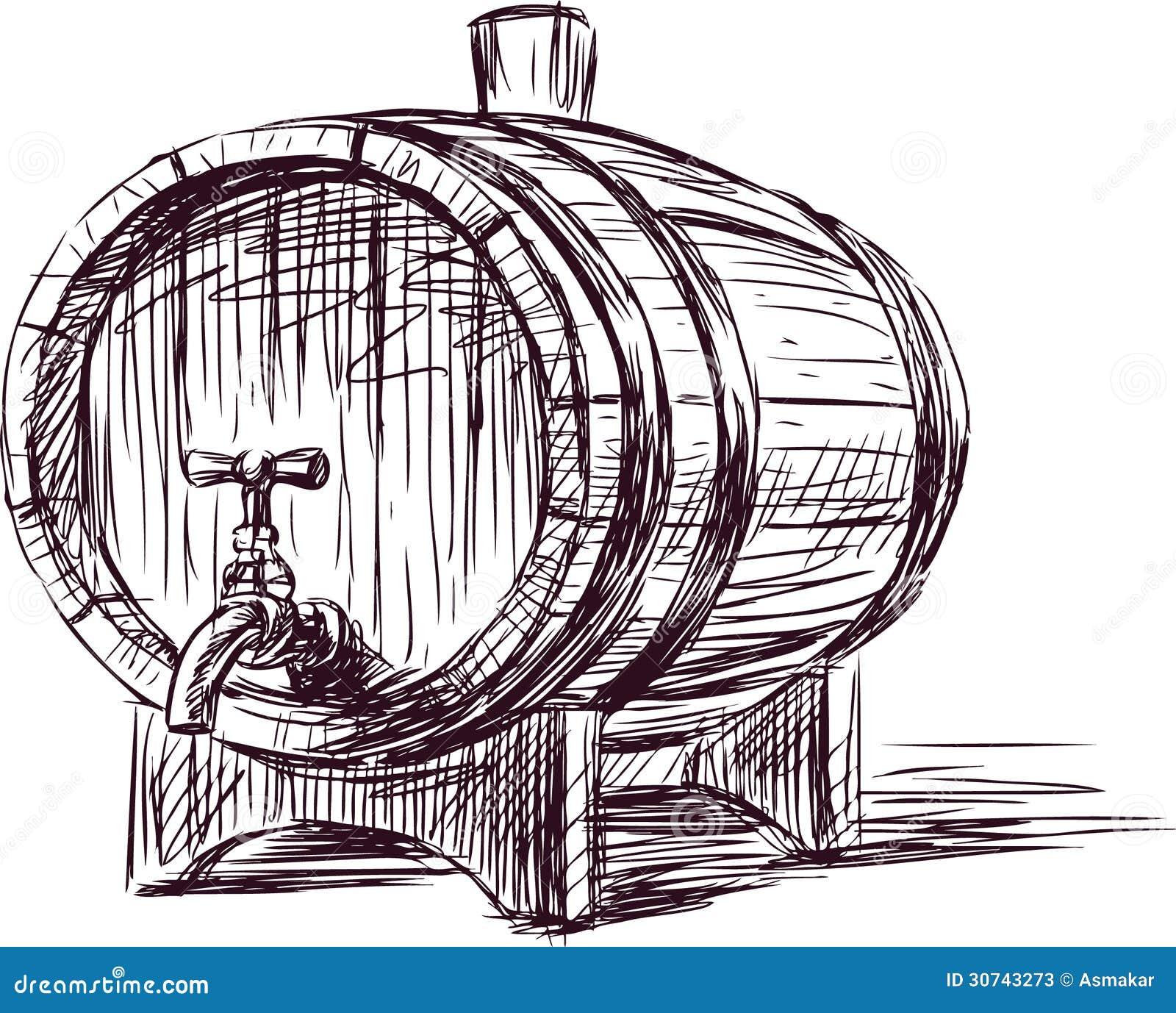 Barril de vino fotos de archivo imagen 30743273 - Barril de vino ...