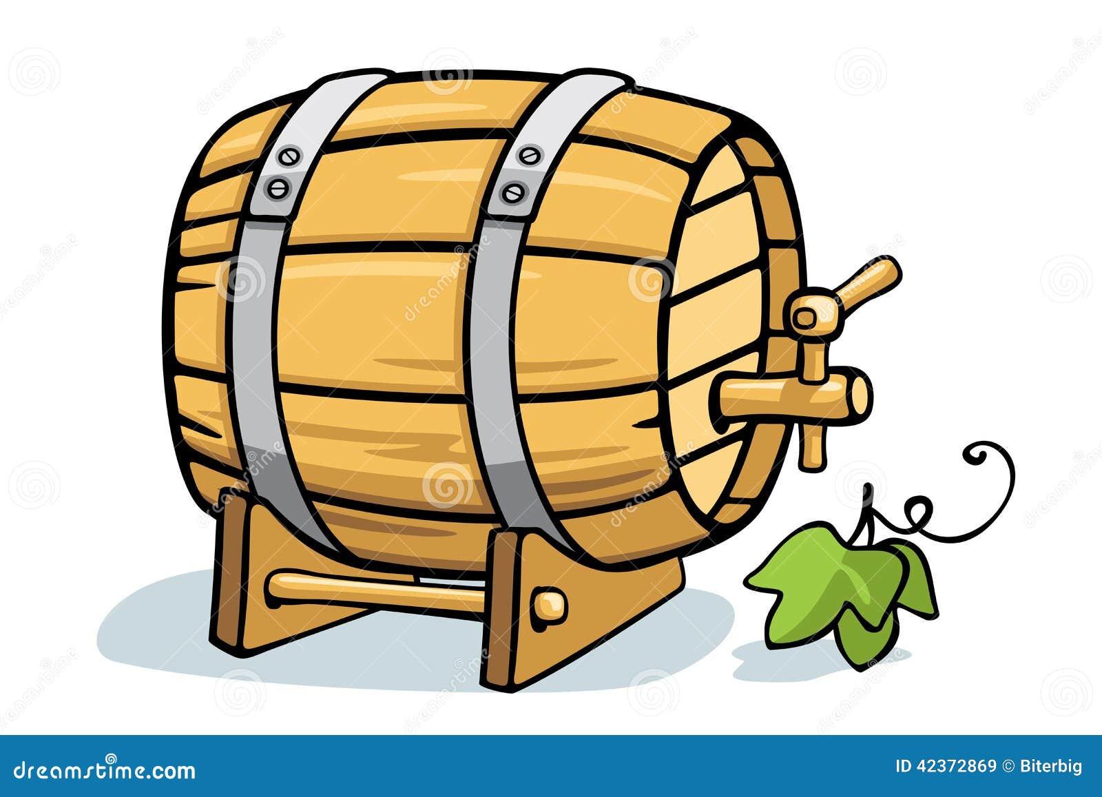 Barril de vino ilustraci n del vector imagen 42372869 - Barril de vino ...
