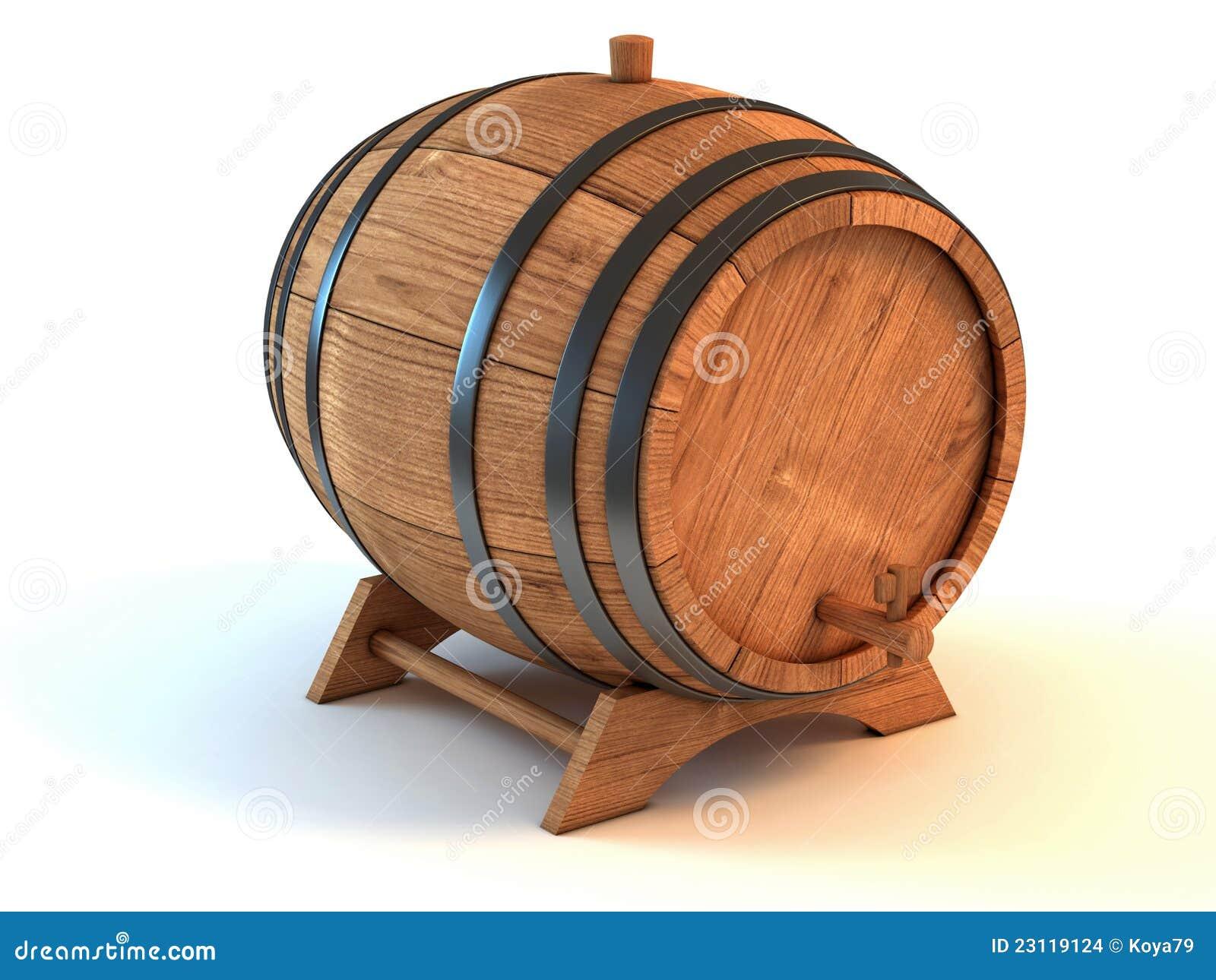 Barril de vino sobre el fondo blanco imagenes de archivo - Barril de vino ...