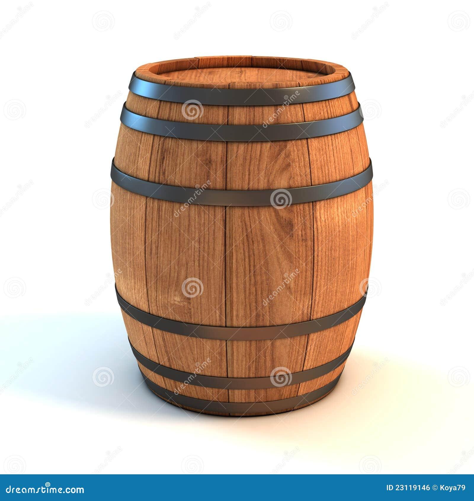 Barril de vino sobre el fondo blanco imagen de archivo - Barril de vino ...