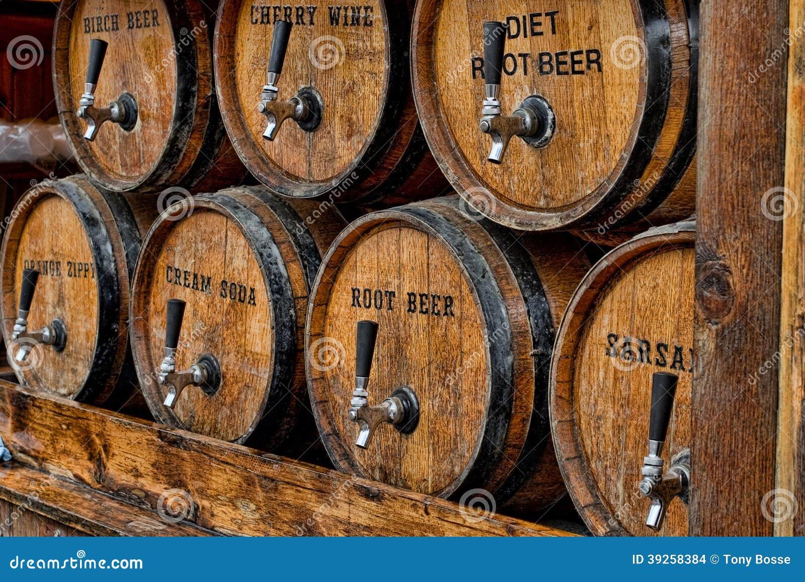 Barriles de la soda