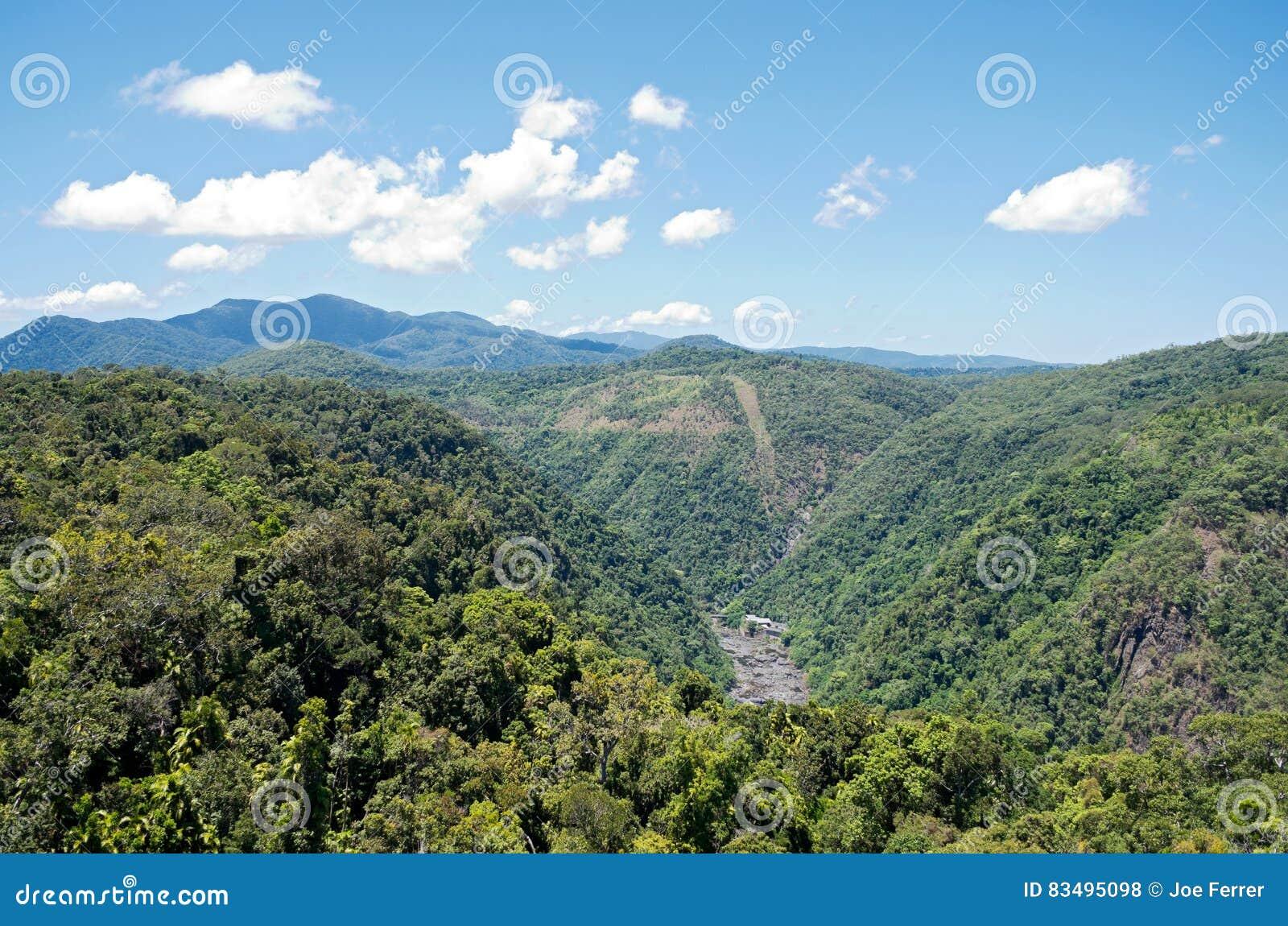 Barron Gorge och kraftverk