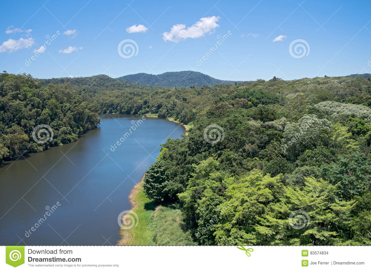 Barron River och Rainforest