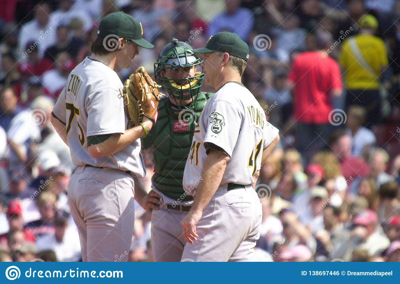 Barry Zito, Jason Kendall und Curt Young