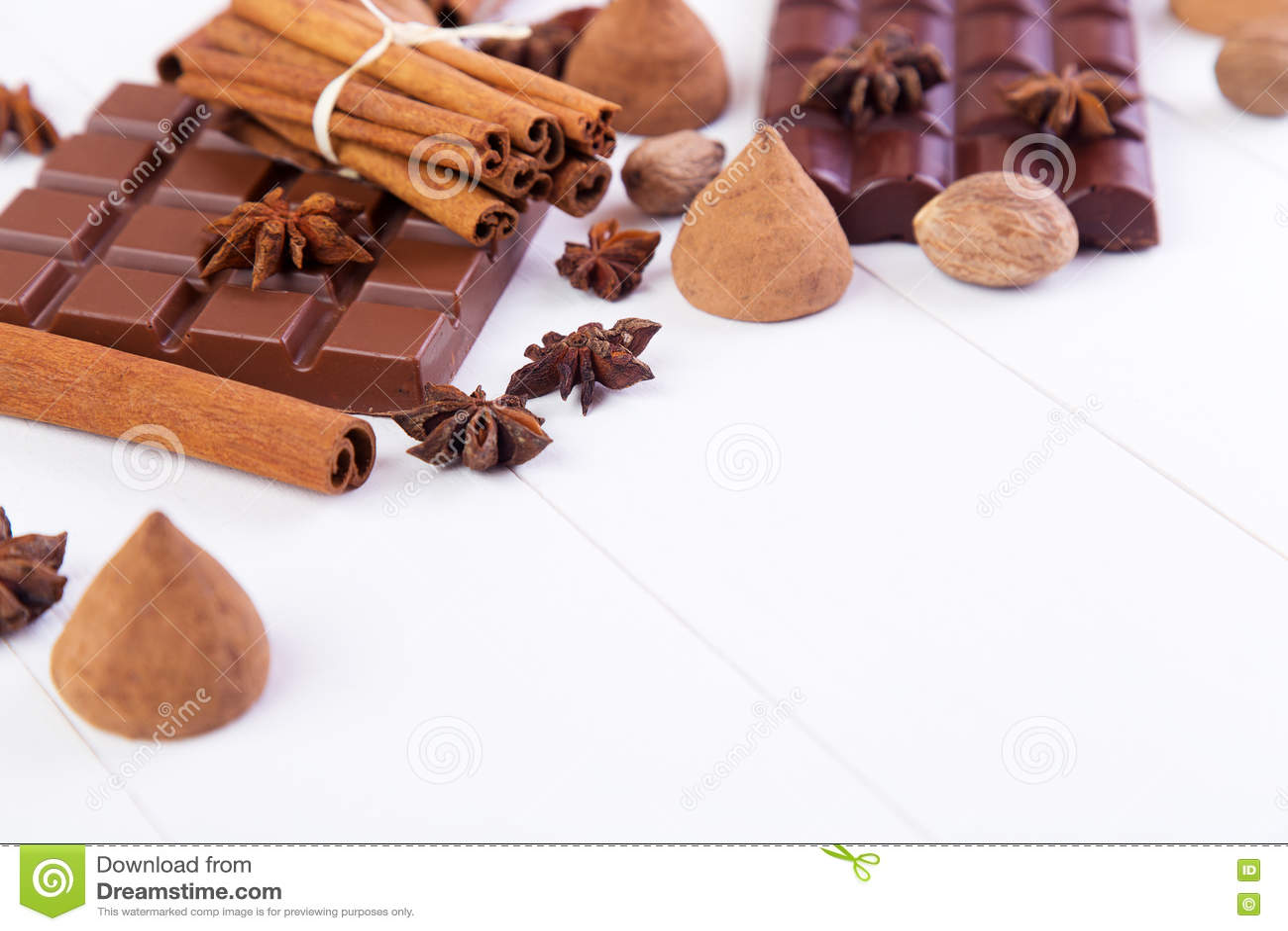 Bars de chocolat